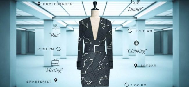 Google Teams Up with H&M to Make a Data Dress based on Your Personal Activities!