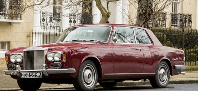 James May to sell his Rolls-Royce Corniche because it makes Him Itchy