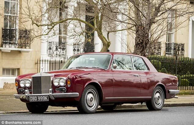 James May is Selling his 1972 Rolls-Royce Corniche Because He is Allergic to Leather