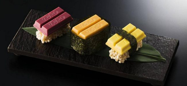 There is Kit Kat Sushi in Japan and We Don't Know How to React!