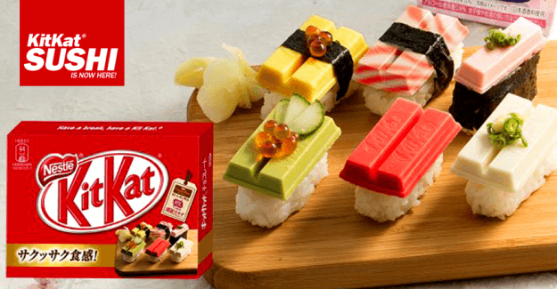 Japan's Kit Kat Sushi Looks More Delicious than You Think!