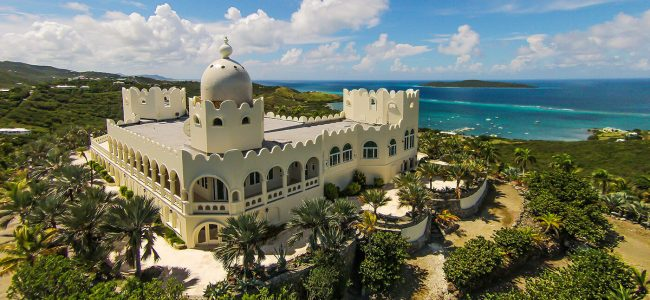 Bulgarian Contessa's Castle in St. Croix is On Sale for $15 Million!