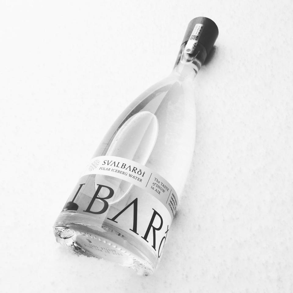 Luxury Iceberg Water by Harrods Come from a Real Glacier to Your Home