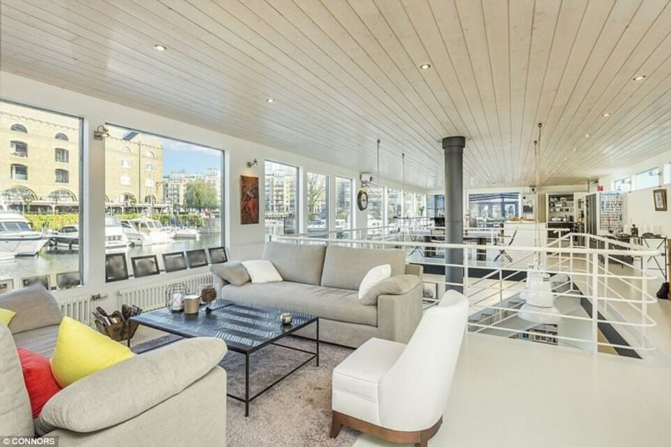 Matrix Island is Britain's Most Expensive Houseboat and it can be yours for $4.7 Million!
