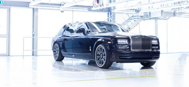This Rolls-Royce is the Last Ever Phantom VII to be Made as its 14-year Run Ends