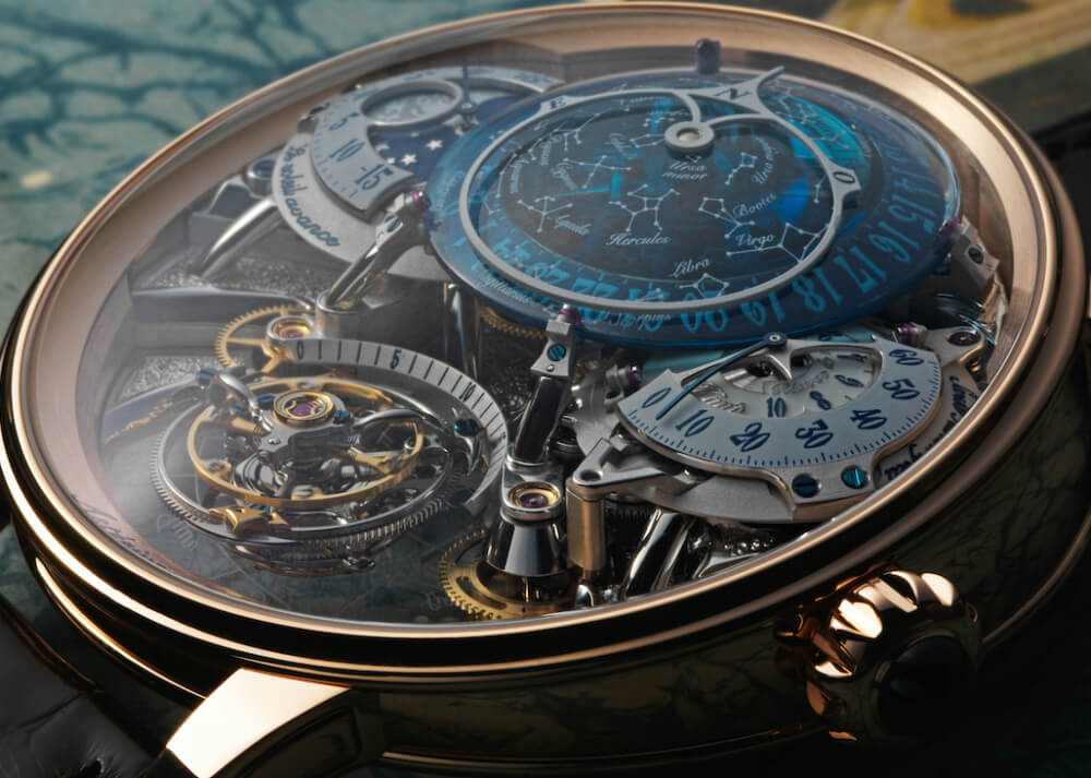 Show Up on Time Thanks to Bovet Récital 20 Astérium Watch!