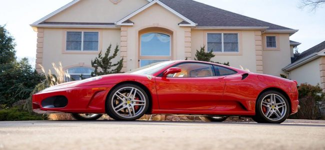 Trump's Former Ferrari F430 F1 Coupe is Heading to Auction!