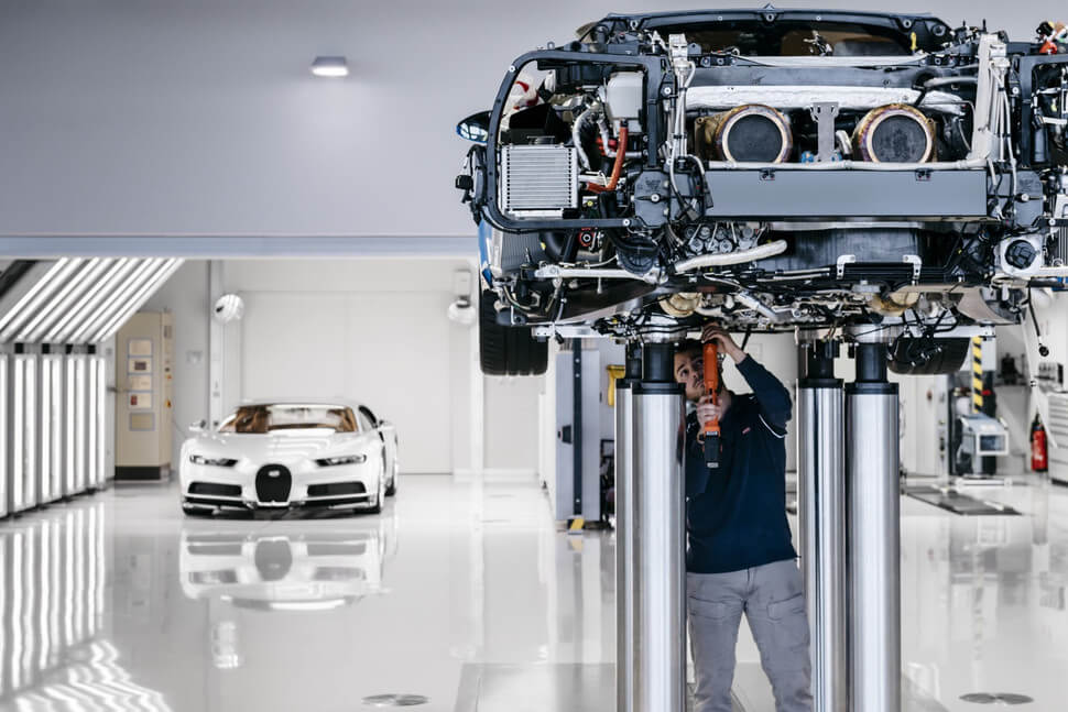 Step Inside the Bugatti Factory and Take a Look at How the Chiron is Made!