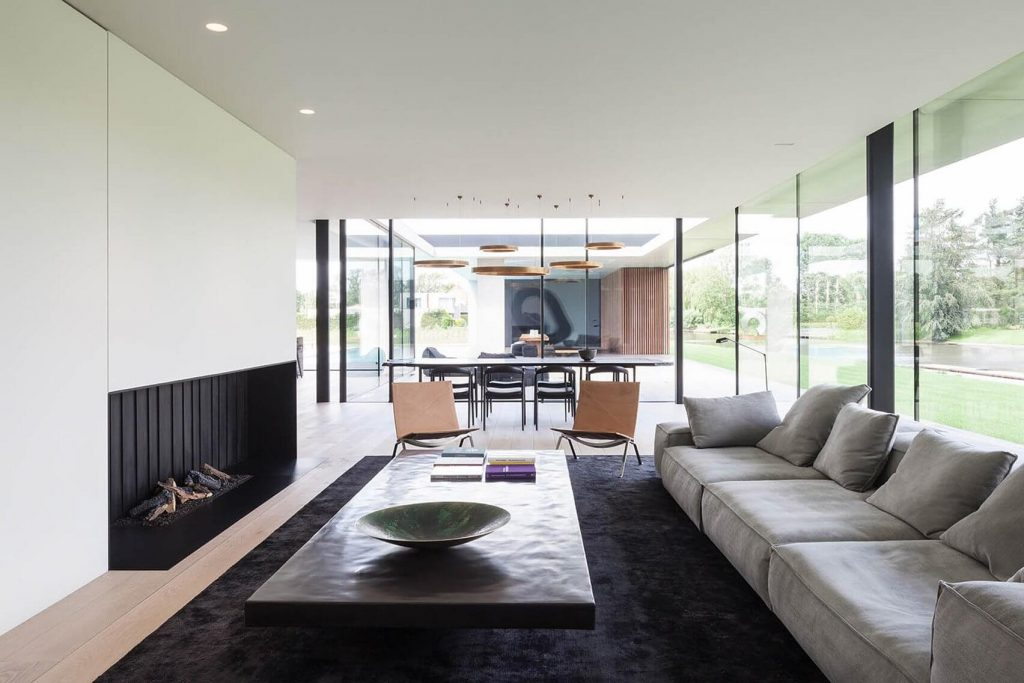 Step Inside This Belgian Bachelor Pad Build For The