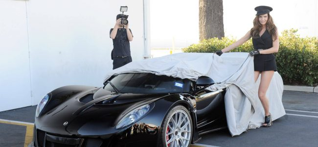 This Hennessey Venom GT Spyder Belonging to Steven Tyler Sold for a Good Cause