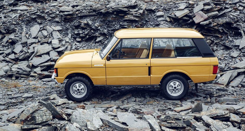 Ten 1970s Range Rover Cars Will be restored by Land Rover and You can Have One!