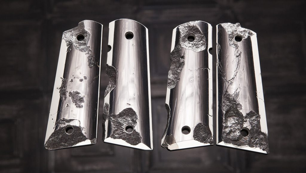 The $4.5 Million Meteorite Handguns by Cabot Will Blow Your Minds