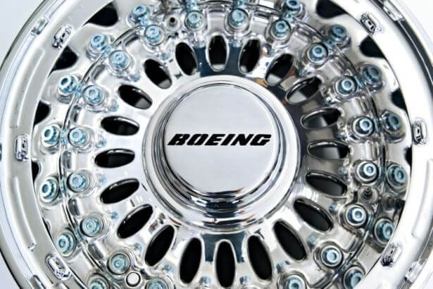 The Boeing 777 Wheel Coffee Table by Fallen Furniture Looks Stunning!