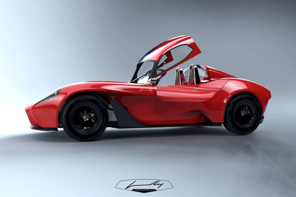 The Jannarelly Design-1 Comes with a Front-Hinged Clamshell!