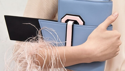 Prada Plex Ribbon Geometric Bag Will Help You Turn All the Heads Around