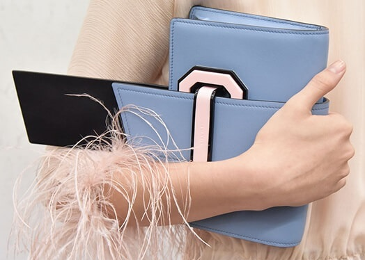 e3927595742 The New Prada Plex Ribbon Geometric Bag is Full of Stylish Details