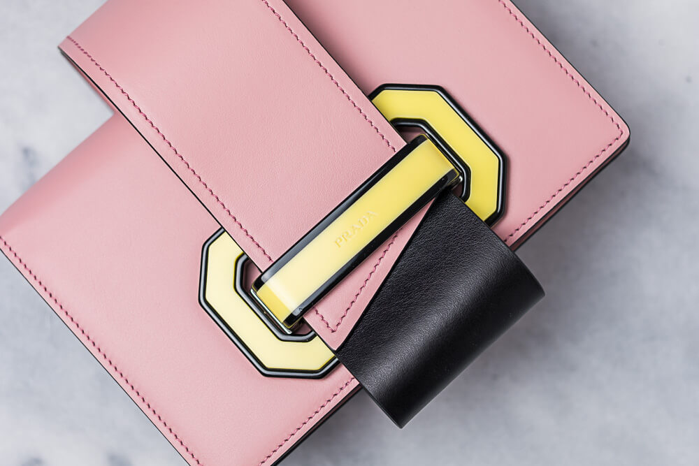 The New Prada Plex Ribbon Geometric Bag is Full of Stylish Details