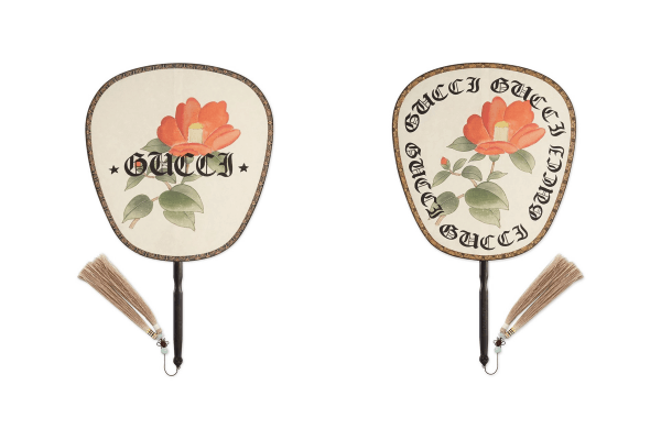 These Stylish GUCCI Paper Fans Will Make Your Summer Days Way Better