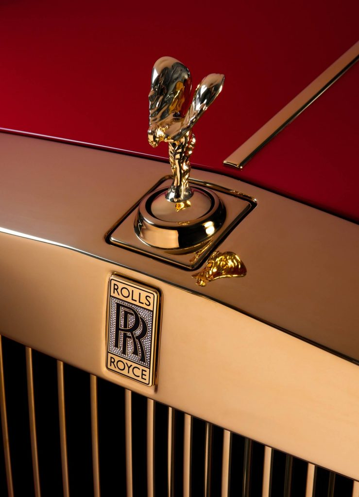 These Two Gold-Infused Rolls-Royce Phantom Cars are Destined for the 13 Hotel in Macau!
