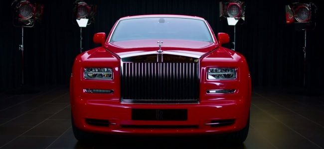 Two Exceptional Gold-Infused Rolls Royce Phantom Cars Will Be Heading to the 13 Hotel in Macau