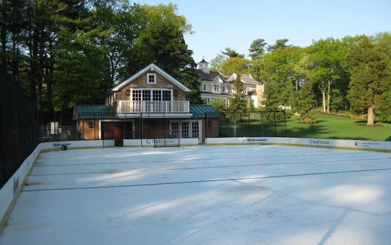 This Classic Mansion in Dedham with Private Ice Rink Is on Sale for $8.3 Million!