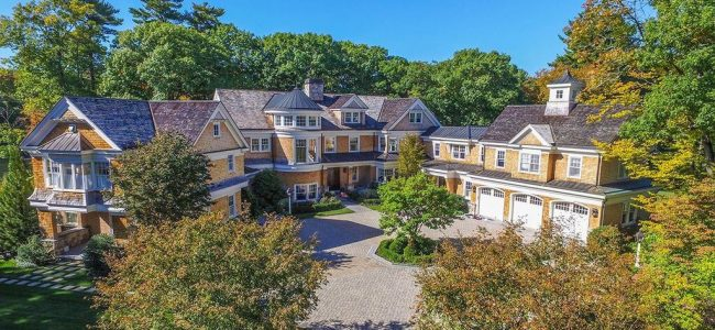 22-Acre Dedham Mansion with Private Ice Rink is On Sale!