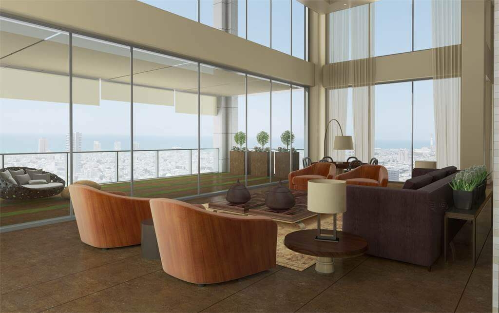 This Incredible-Looking Penthouse in Tel Aviv's G Tower Is Everyone's Dream Home