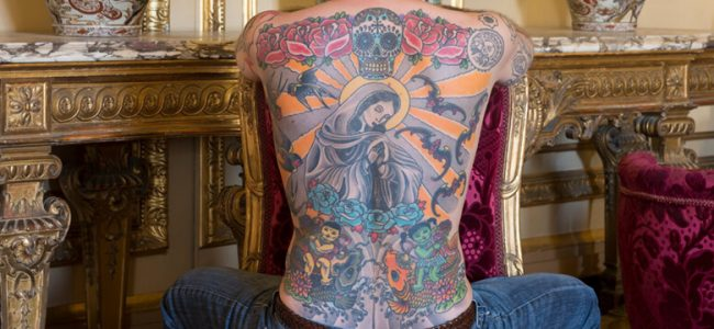 This Man Sold His Tattooed Back to an Art Collector! See How Much He Got Paid!