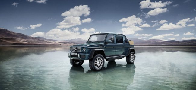 This Mercedes-Maybach's G650 Landaulet Is Available Only for 99 People!