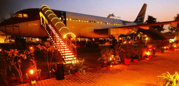 This Restaurant in India Is Aboard a Retired Airbus 320 Plane!