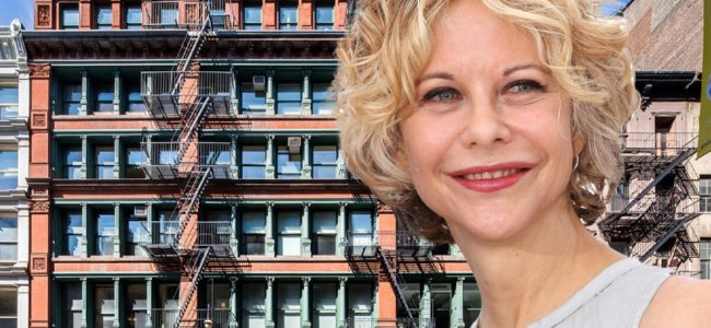 Actress Meg Ryan is selling her SoHo Loft she just restored for $10.9 Million!