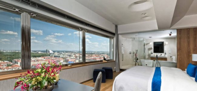 Your Privacy Will be guaranteed at this Hotel with Only One Room from Prague (11)