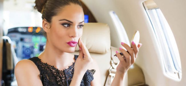 Travel makeup for the regular jet-setter