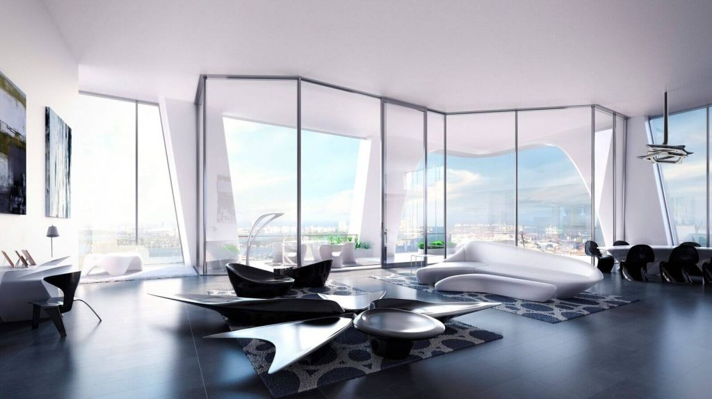 Buy this Full-Floor Apartment in Zaha Hadid's One Thousand Museum!