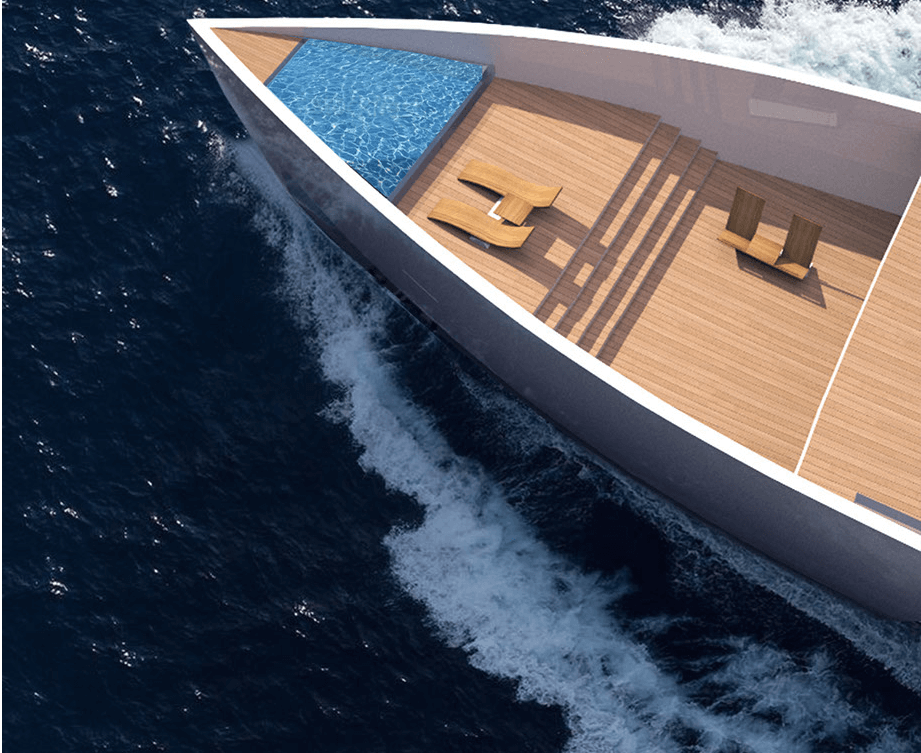 Check out the Ardea Alba Yacht with a Futuristic Take on Ancient Boats!
