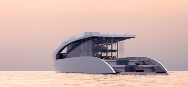 You'll Fall in Love with this Ardea Alba Yacht designed by Timothy Baldacci!