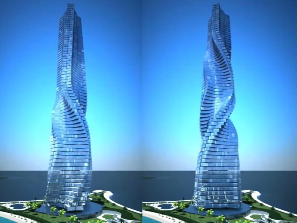 Dubai Wants to Build the First Rotating Skyscraper in the world