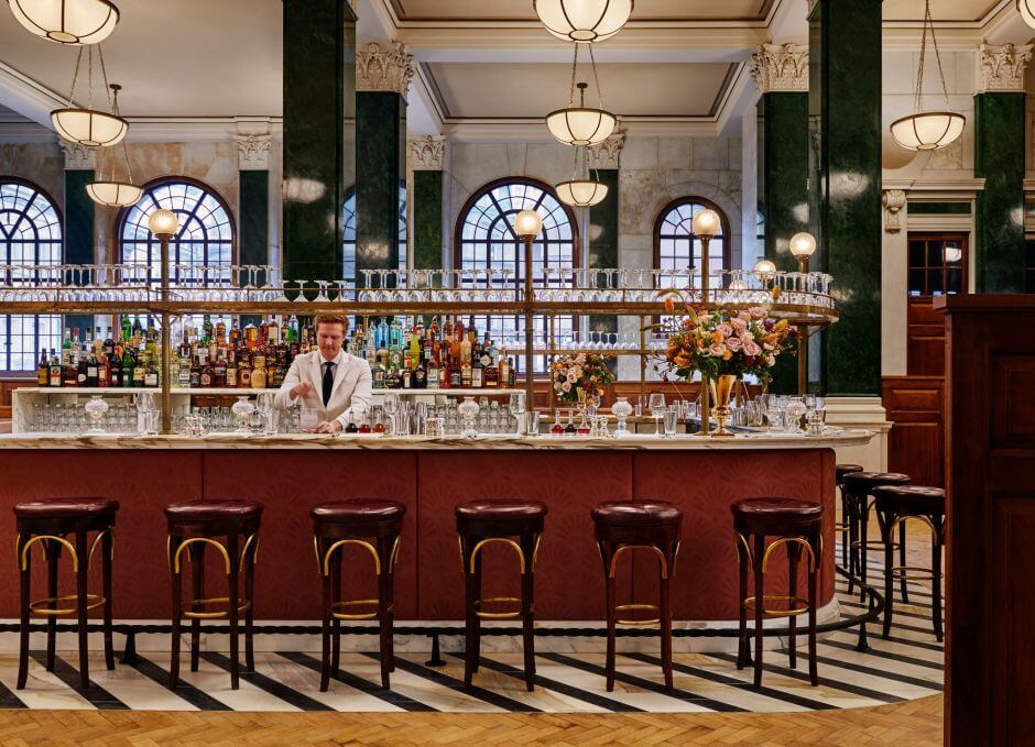 Everyone Will Love How SOHO House turned this Bank into a Wonderful Hotel & Club!
