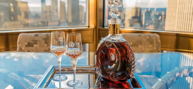 Four Seasons New York & Louis XII Teamed Up to Release the Cognac Experience