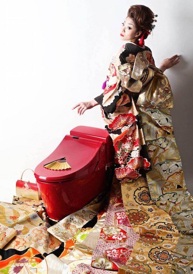 Let's Talk About the Lacquered Bidocoro Luxury Toilet You Only See In Japan