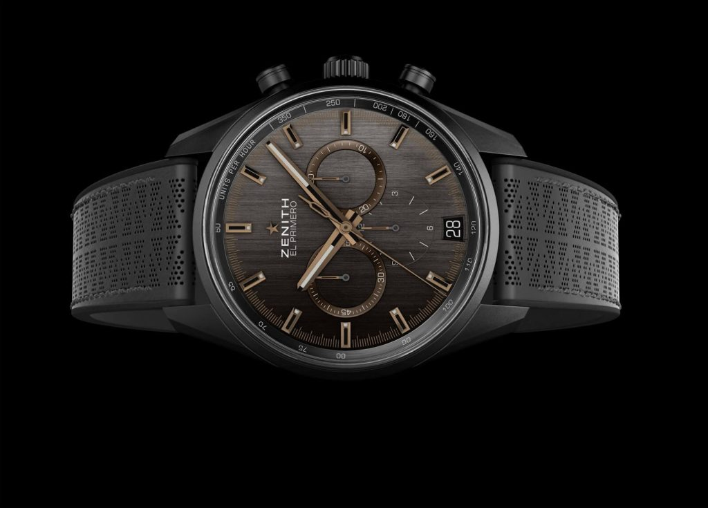 Match Your Range Rover With the Chronomaster El Primero Range Rover Velar Watch