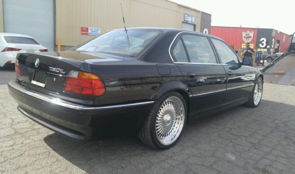 Own a Piece of History by Buying the BMW 750IL Car Tupac Was Shot in