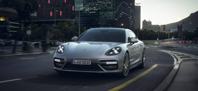 The Porsche Panamera Turbo S E-Hybrid is a Fast Car
