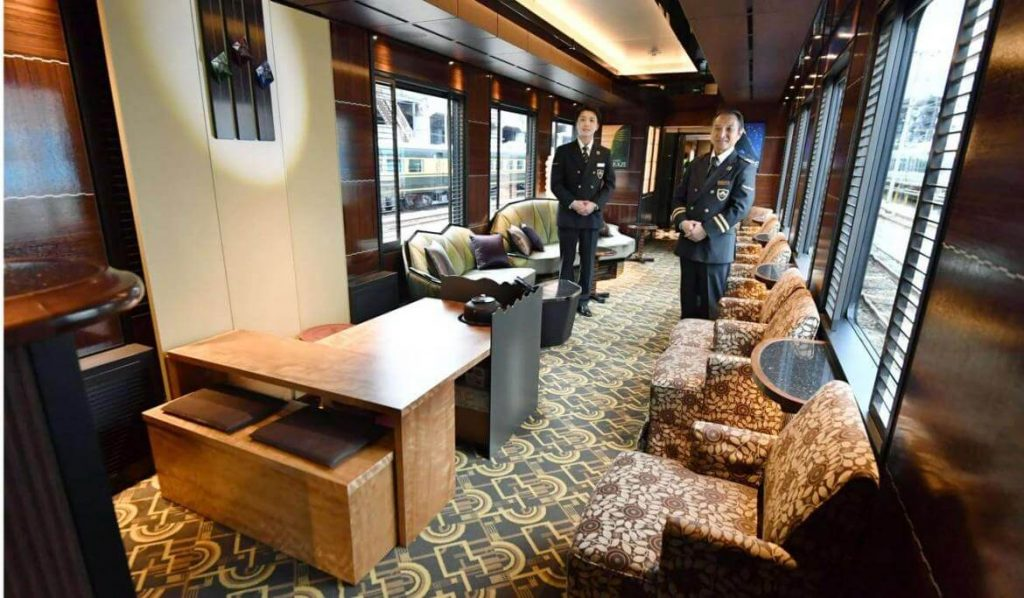 The Twilight Express Mizukaze is Japan's Newest Luxurious Train