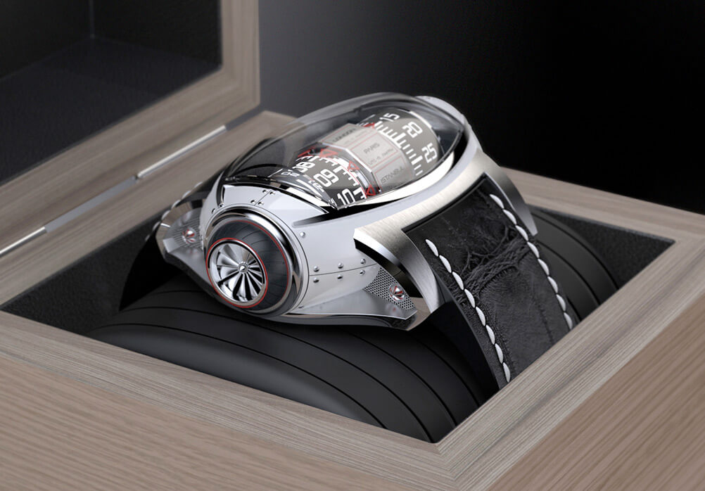 This Germain Baillot Concept Watch is What Every Gentleman Should Wear