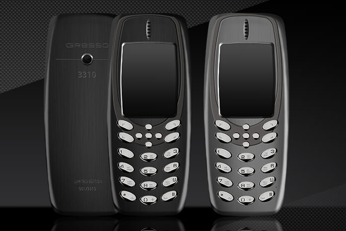 This Gresso 3310 is Basically a Dazzling Nokia 3310 With a Price tag of $3,000