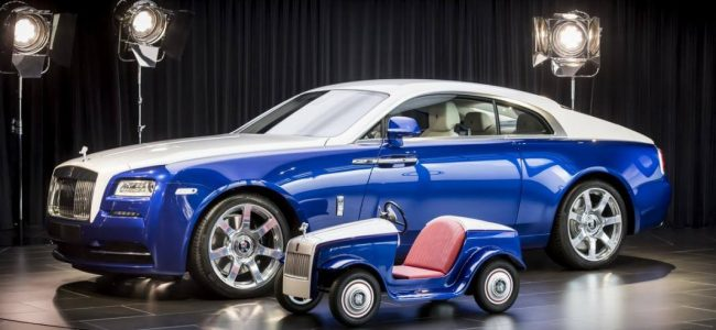 This Mini Rolls-Royce SRH Brings Joy to a Children's Hospital!
