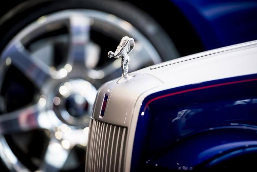 This Rolls-Royce SRH was built for Saint Richard's Hospital to Fulfill a Wonderful Cause