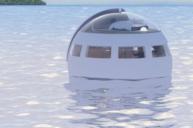This is How a Floating Hotel Room from Japanese Theme Park Looks Like!
