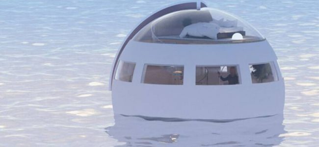 This is What a Floating Hotel Room that Lets You Float to Attractions Overnight Looks Like!